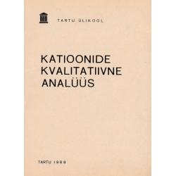 Katioonide kvalitatiivne analüüs : praktikumi juhend