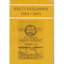 Eesti eksliibris 1974-1975
