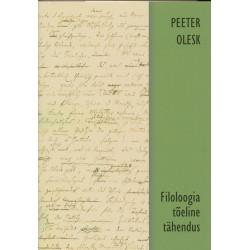 Filoloogia tõeline tähendus