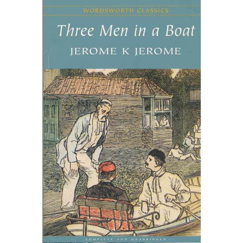 Three men in a boat (to say nothing of the dog!)