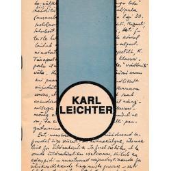 Karl Leichter : personaalnimestik