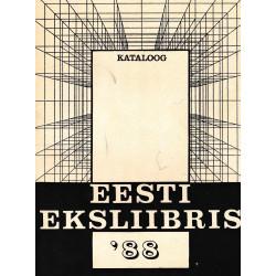 Eesti eksliibris 1988 : kataloog