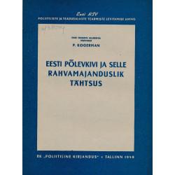 Eesti põlevkivi ja selle rahvamajanduslik tähtsus