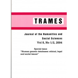 Trames : Journal of the...