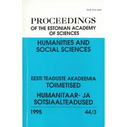 Proceedings of the Estonian...