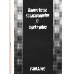 Soome keele sõnavaraõpetus...