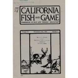 California fish and game....