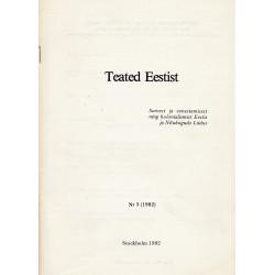 Teated Eestist. Nr.3 (1982)