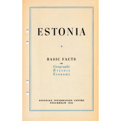 Estonia : basic facts on...