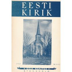 Eesti kirik. 11/12, 1957
