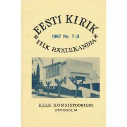 Eesti Kirik, 1967, nr. 7-8
