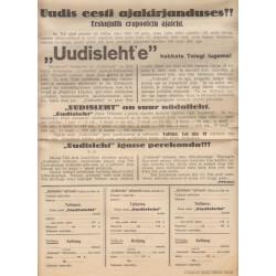 "Ajaleht ""Uudisleht""..."