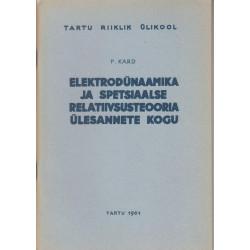 Elektrodünaamika ja...