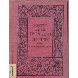 Goethe and the twentieth...
