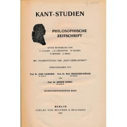 Kant-Studien, Band 26