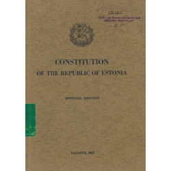 Constitution of the...