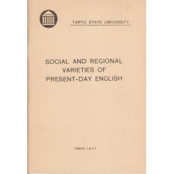 Social and regional...