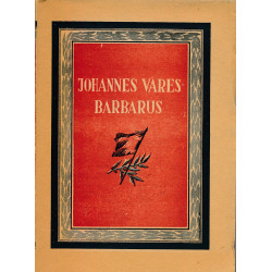 Johannes Vares-Barbarus :...