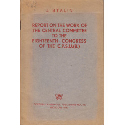Report on the work of the...