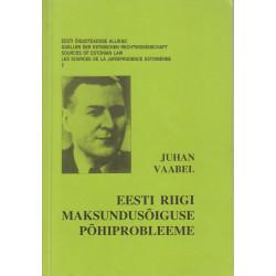 Eesti riigi-maksundusõiguse...