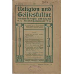 Religion und Geisteskultur...