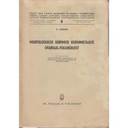 Morfoloogilisi uurimusi...