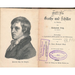 Goethe und Schiller in Briefen