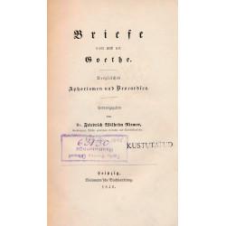 Briefe von und an Goethe :...