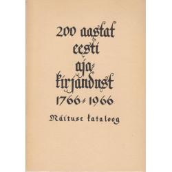 200 aastat eesti...