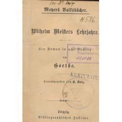 Wilhelm Meisters Lehrjahre...