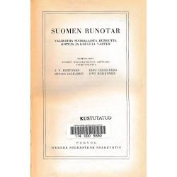 Suomen runotar : valikoima...