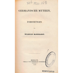 Germanische Mythen :...