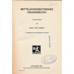 Mittelhochdeutsches Übungsbuch