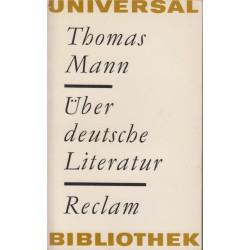 Über deutsche Literatur :...
