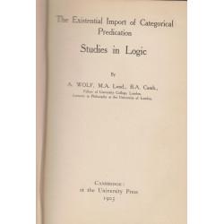 Studies in logic : the...