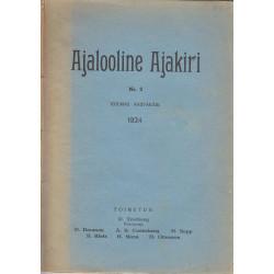 Ajalooline Ajakiri  2/1924