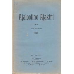 Ajalooline Ajakiri 4/1926
