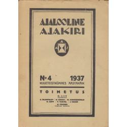 Ajalooline Ajakiri 4/1937