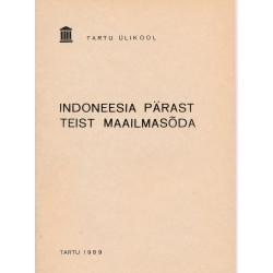 Indoneesia pärast Teist...