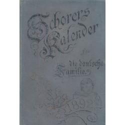 Schorer's Kalender für die...
