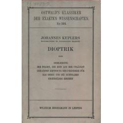 Johannes Keplers Dioptrik