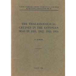 The thalassological cruises...