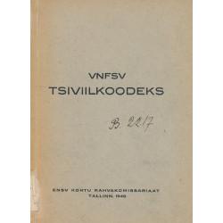 VNFSV tsiviilkoodeks :...