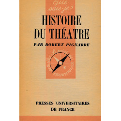 Histoire du theatre