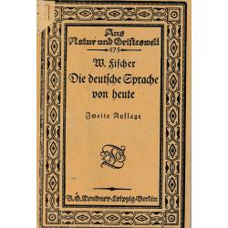 Die deutsche Sprache von heute