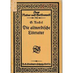 Die altnordische Literatur