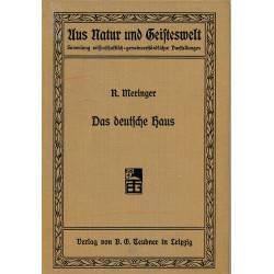 Das deutsche Haus und sein...