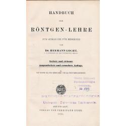 Handbuch der Röntgen-Lehre...