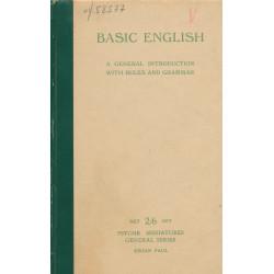 Basic English : a general...