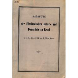 Album der Ehstländischen...
